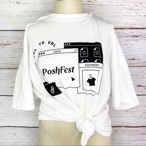 Poshmark PoshFest 2020 swag - from IRL to URL